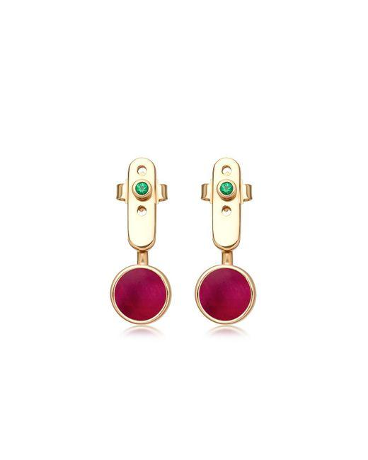 Astley Clarke - Red Ruby Mars Ear Jackets - Lyst