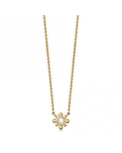Astley Clarke - Multicolor Mother Of Pearl Mini Floris Pendant Necklace - Lyst