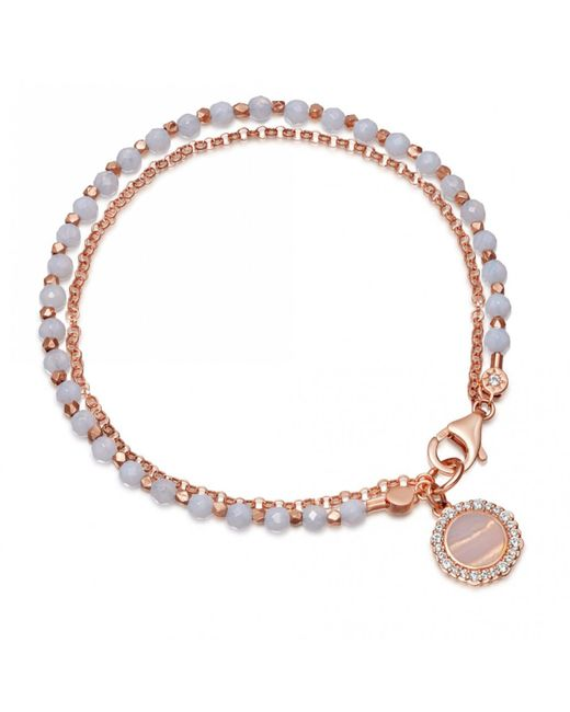 Astley Clarke - Multicolor Luna Lace Agate Biography Bracelet - Lyst