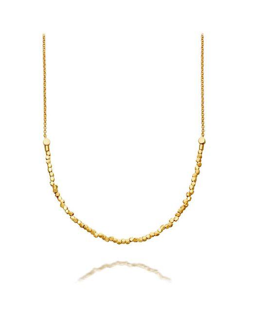 Astley Clarke | Metallic Nugget Detail Biography Necklace | Lyst