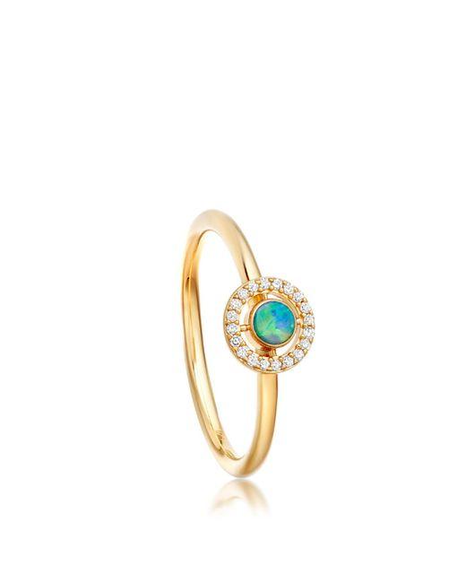 Astley Clarke - Metallic Opal Mini Icon Aura Ring - Lyst