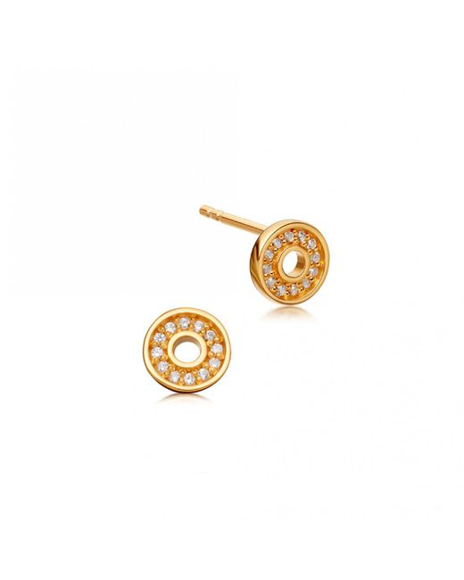 Astley Clarke - Multicolor Mini Open Halo Biography Stud Earrings - Lyst