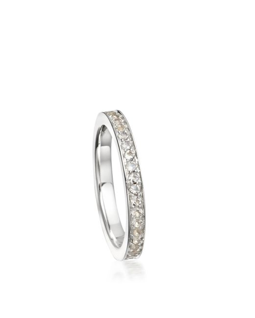 Astley Clarke | White Moonstone Infinity Ring | Lyst