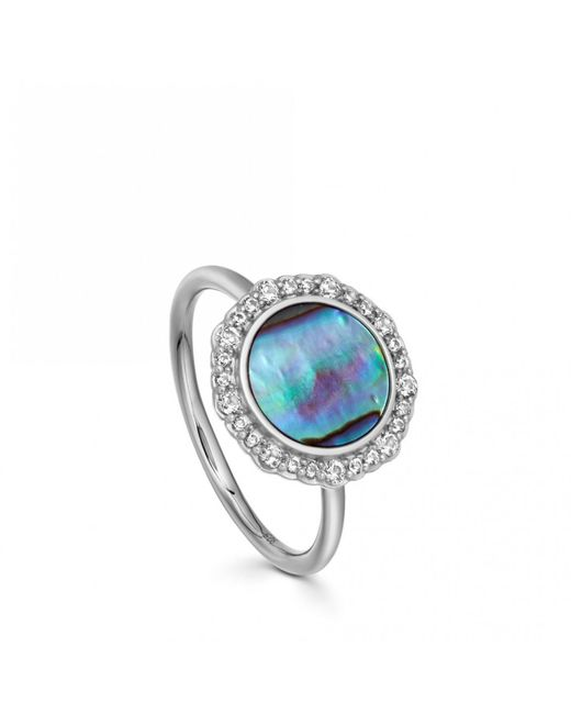 Astley Clarke - Multicolor Luna Abalone Ring - Lyst