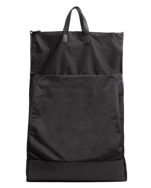 ATM - Black Large Fold Over Backpack - Lyst