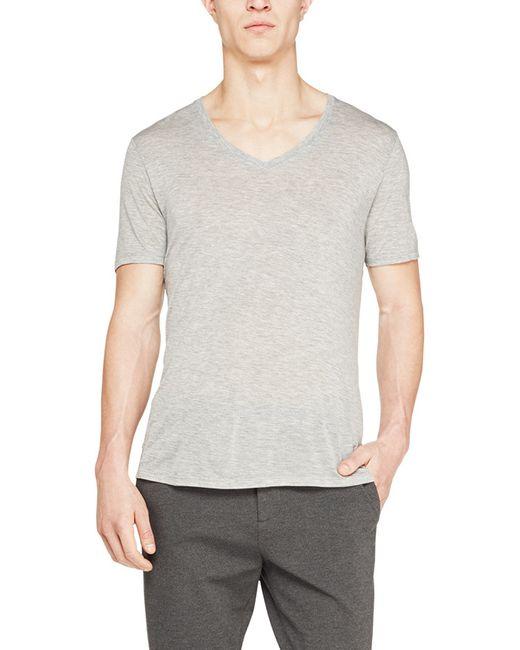 ATM - Gray Modal Jersey V-neck Tee for Men - Lyst