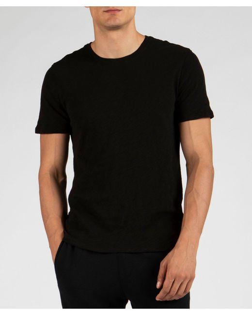 ATM Slub Jersey Crew Neck Tee - Black for men