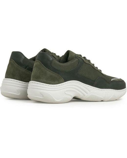 Flex Sneaker Army Textile