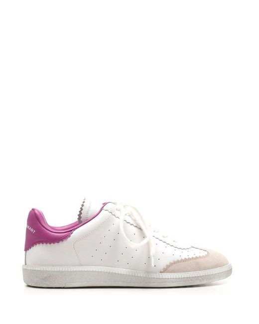 Isabel Marant Women's Bk002921p041s40pk Pink Other Materials Sneakers