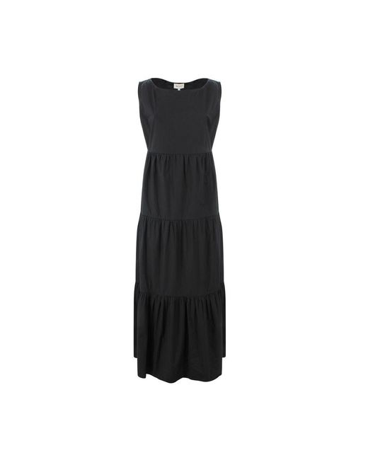 Woolrich Black Long Dress