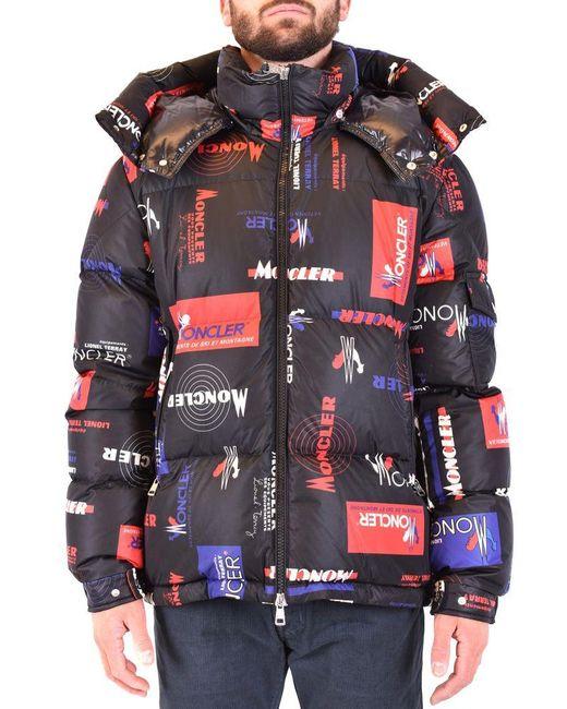 Moncler Black Jacket for men