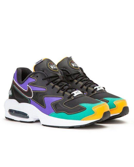 Nike Air Max2 Light Premium Shoe (black