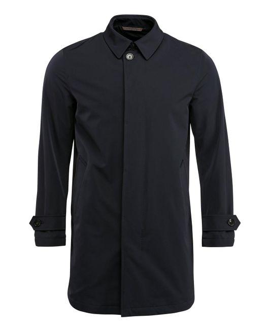 Ermenegildo Zegna Blue Navy Rain Coat for men