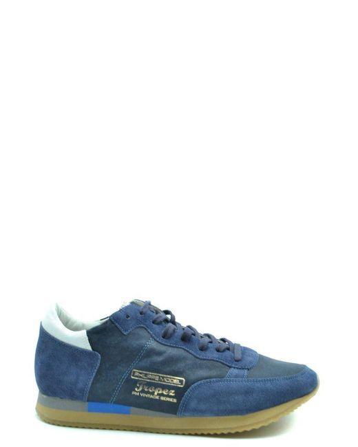 Philippe Model Blue Shoes for men