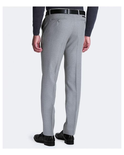 Extra-slim-fit virgin-wool trousers with textured structure HUGO BOSS HMBeVa