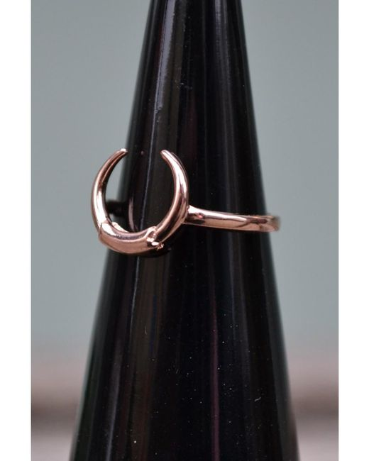 Maria Black - Metallic Tusk Rose Gold Ring - Lyst