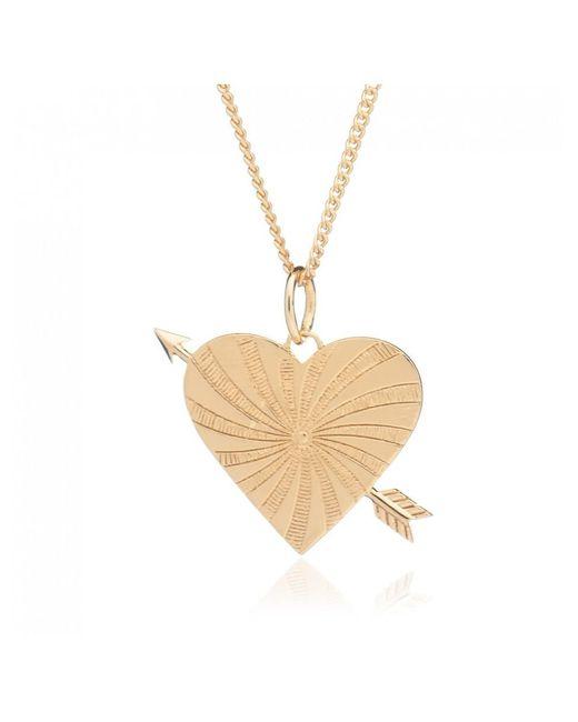 Rachel Jackson Metallic Love Rules Necklace