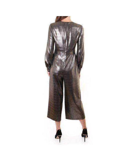 Ted Baker twigga Metallic Wrap Jumpsuit
