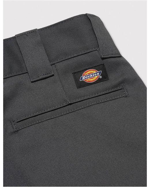 Dickies Gray 872 Work Pants (slim) for men