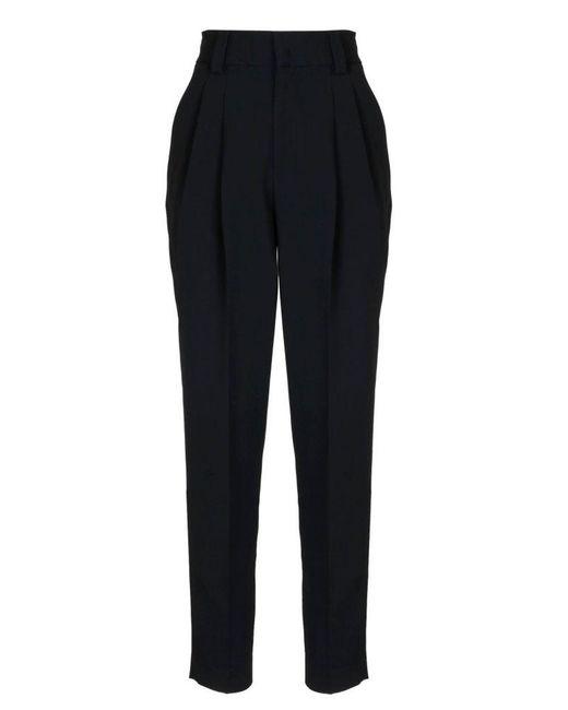 RED Valentino Women's Ur3rbc902eu0no Black Acetate Pants