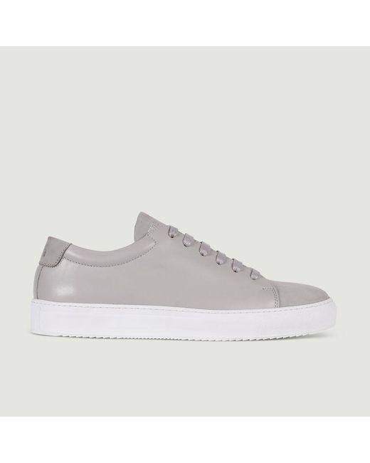 National Standard Gray Sneakers Edition 3 Bi-material Perla Nubuck for men