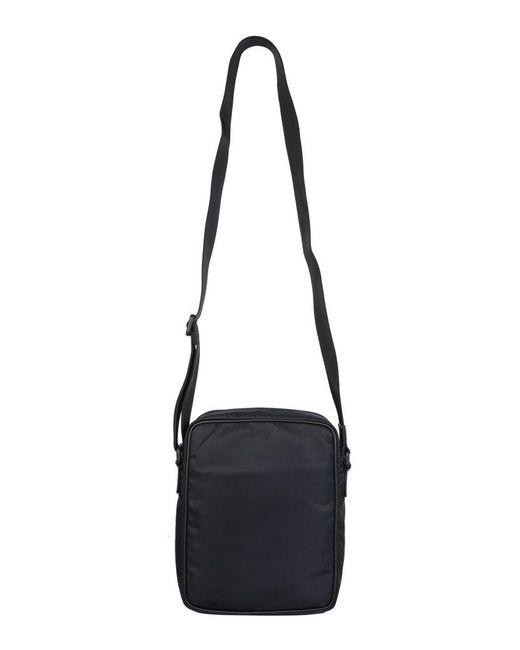 McQ Alexander McQueen Black Medium Urban Messenger Bag for men