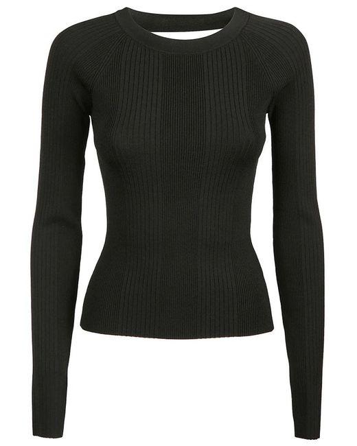 Alexander Wang Women's 4k281076n1001 Black Viscose Sweater