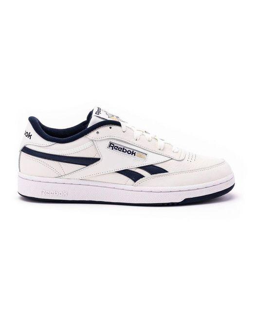 Reebok Men's Fv9878 White Leather Sneakers for men