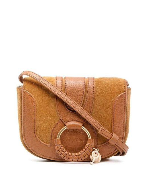 See By Chloé See By Chlo㉠Women's Chs18as901417242 Brown Leather Shoulder Bag