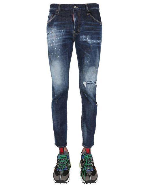 DSquared² Blue Skater Jeans for men