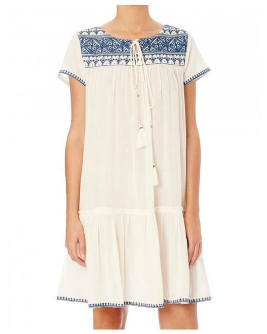 Star Mela - Multicolor Women's Isla Embroidered Dress - Lyst