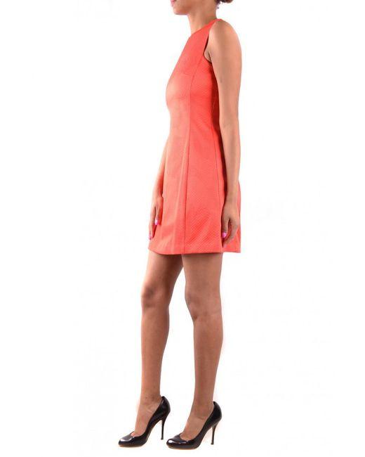 Armani Jeans - Orange Dress - Lyst