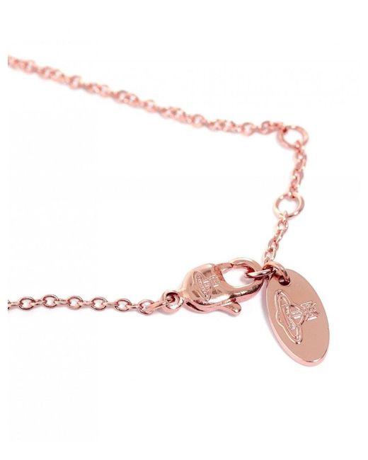 Vivienne Westwood - Metallic Minnie Bas Relief Bracelet - Lyst