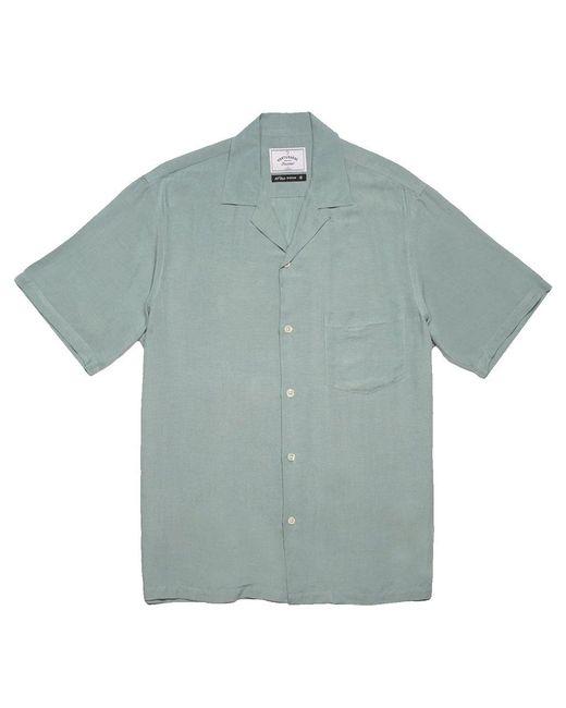 Portuguese Flannel Green Catown Ss Shirt Verdete for men