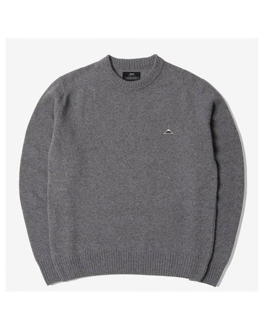 Edwin Gray Essential Crew Sweater Grey Heather for men