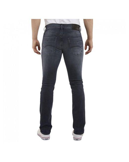 38a8d4b41 ... Tommy Hilfiger - Tommy Jeans Slim Scanton Dynamic Black Jeans for Men -  Lyst ...