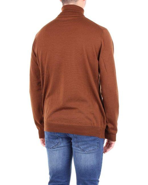 Altea Brown Sweater Men Cookie for men