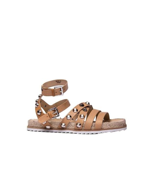 Kendall + Kylie Kendall + Kylie Women's Kkbianca02 Brown Leather Sandals