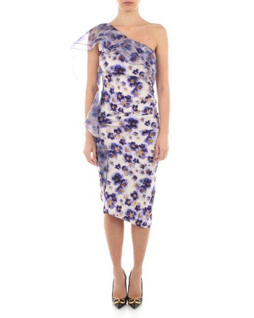 Elisabetta Franchi Purple Dresses