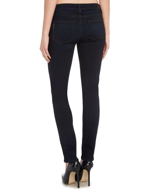 PAIGE - Blue Paige Skyline Skinny Jeans In Mona - Lyst