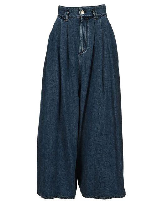 Isabel Marant Blue Naidenae Pants
