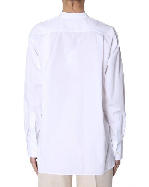 Stella McCartney White Oversize Fit Shirt