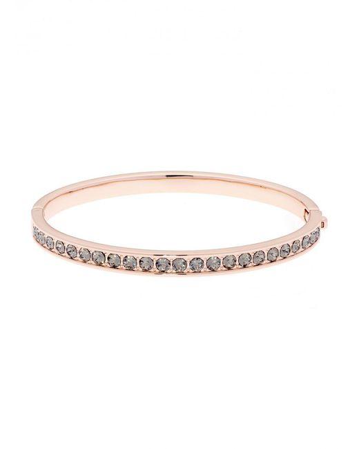 Ted Baker - Metallic Women's Clemara Hinge Crystal Bangle Bracelet - Lyst