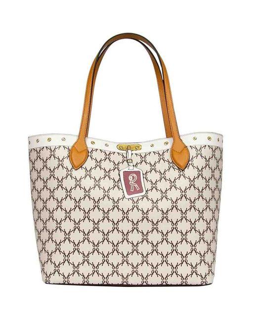 Roberta Di Camerino Multicolor Shopping Bag Large