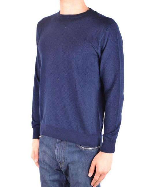 Altea Blue Sweater for men