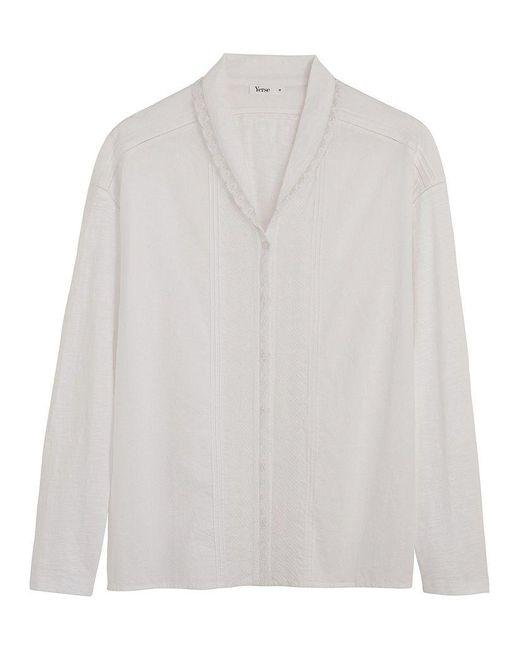 Yerse Audra Shirt (white)
