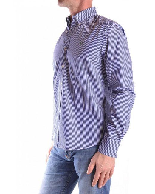 Gant - Blue Shirt for Men - Lyst