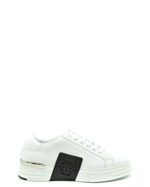 Philipp Plein White Sneakers