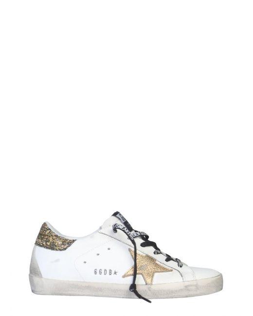 Golden Goose Deluxe Brand White Superstar Sneaker