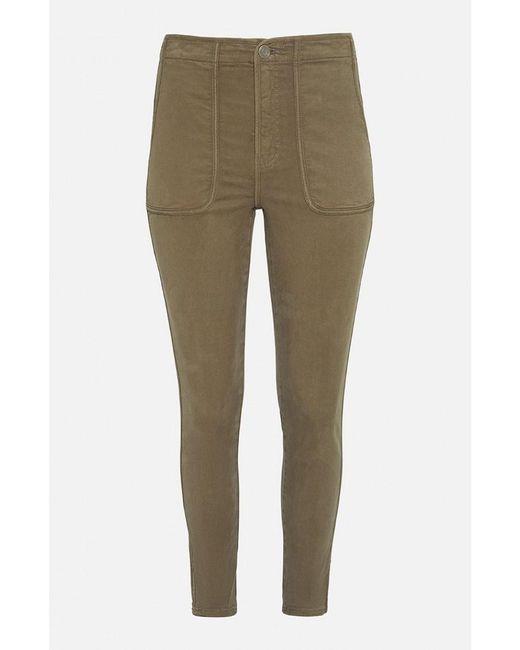 Joie Green Andira High Rise Khaki Pants